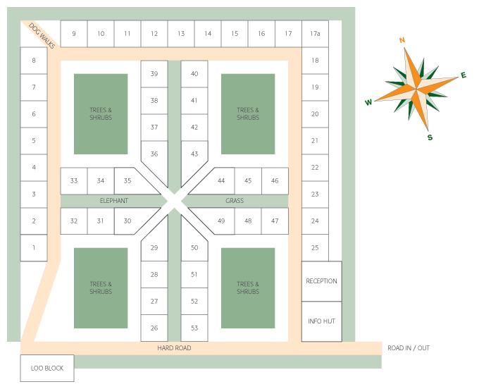 Campsite Site Plan